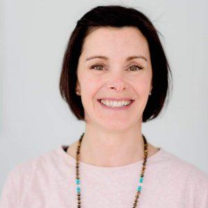 Amélie Blouin, professeure de yoga chez Hamsa Yoga à La Prairie